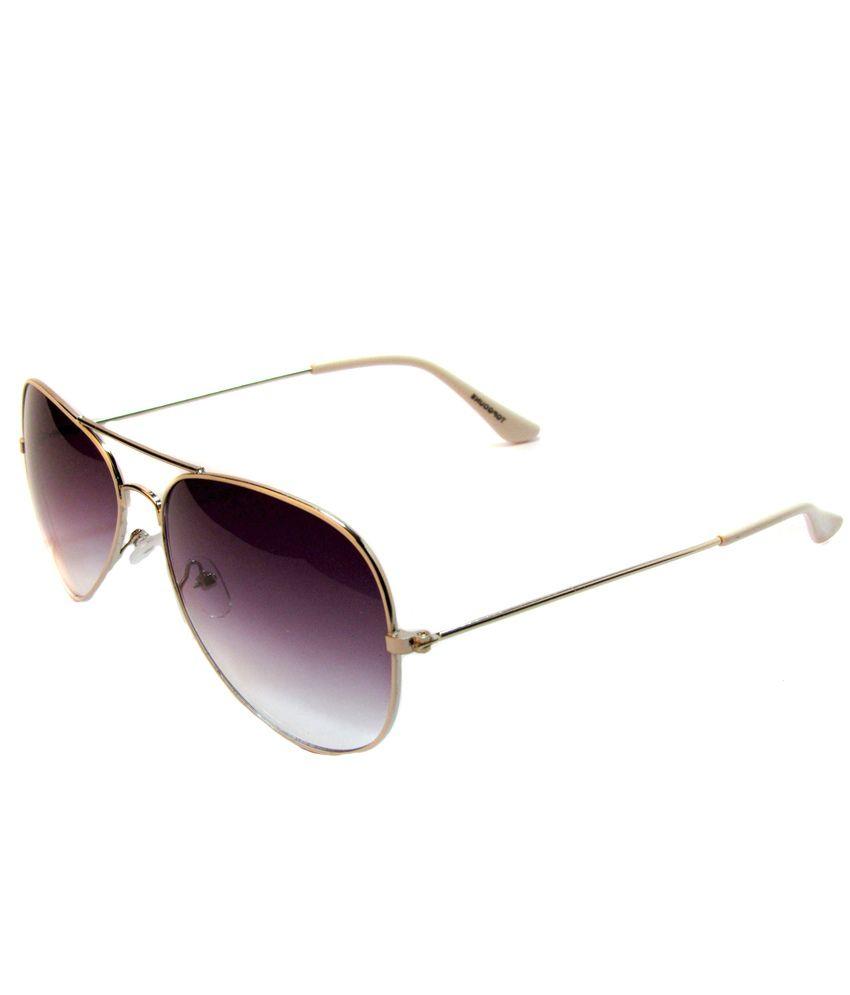 FC 3037 Purple Aviator Sunglasses