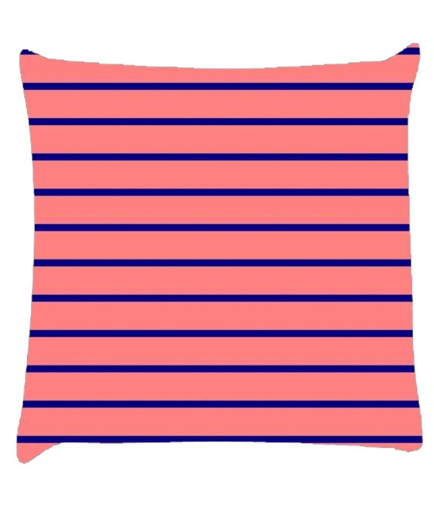 Snoogg Horizontal Lining Pattern Design 1944 Cushion Cover