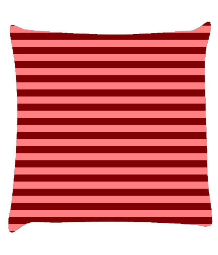 Snoogg Horizontal Lining Pattern Design 1897 Cushion Cover