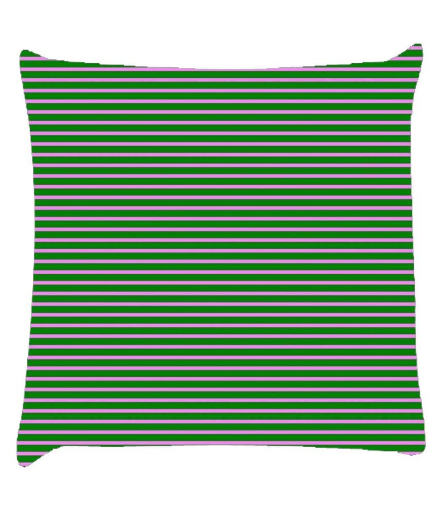 Snoogg Horizontal Lining Pattern Design 2058 Cushion Cover