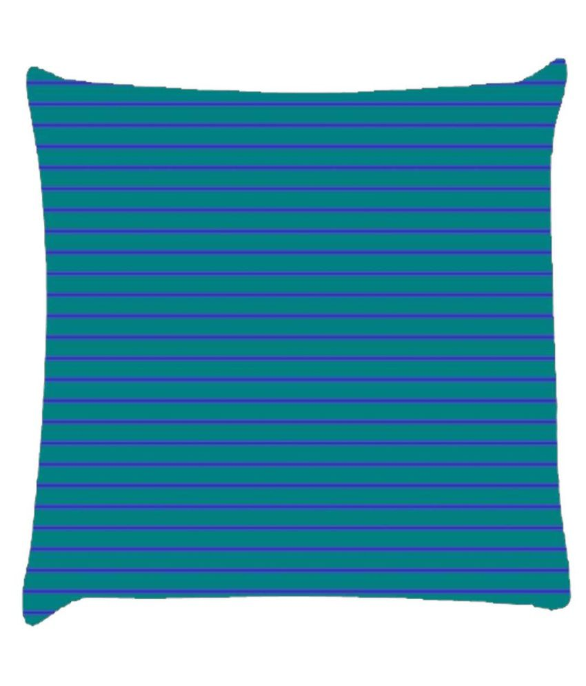 Snoogg Horizontal Lining Pattern Design 2069 Cushion Cover