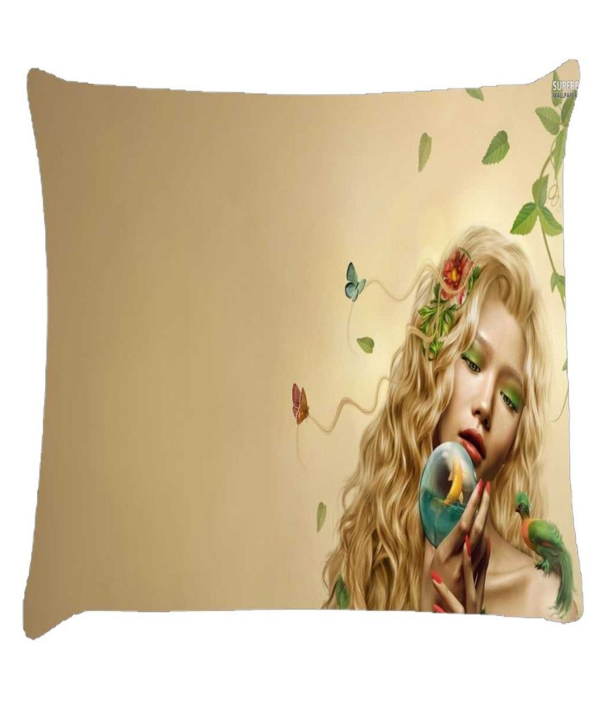 Snoogg Mother Nature 2661 Cushion Cover