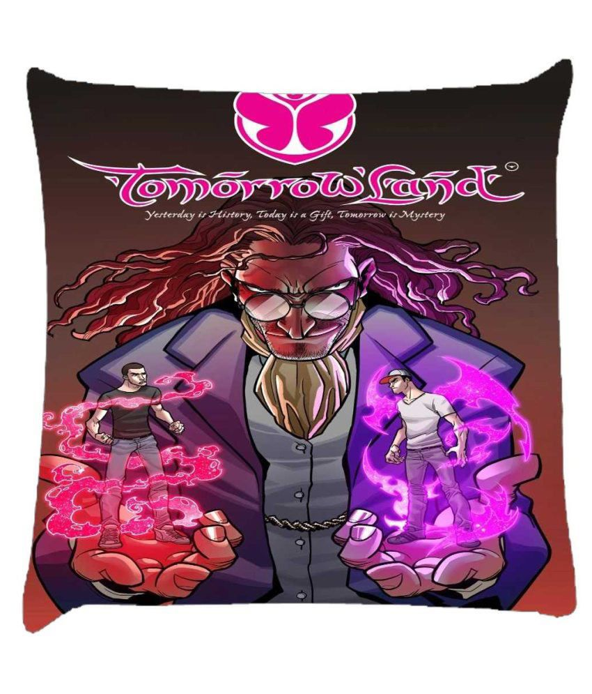 Snoogg Tomorrowland Graphic Cushion Cover
