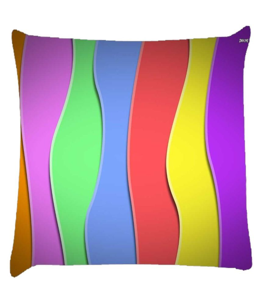 Snoogg Zoom Wave 2419 Cushion Cover