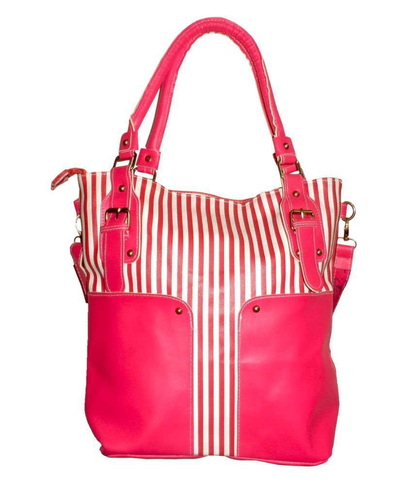 Vogue4all BG1120-HB Pink Tote Bags