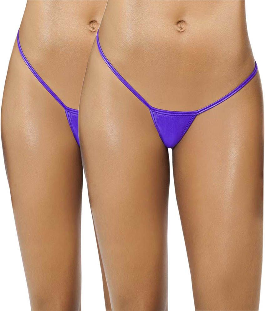 c6b00371aab Buy Aliza Blue Women s G - String Panty Online at Best Prices in India -  Snapdeal