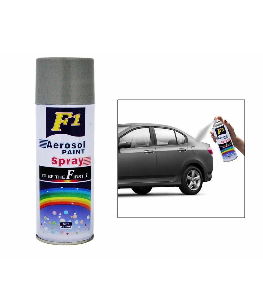 F1 Car Touchup Spray Paint 450ml Silver