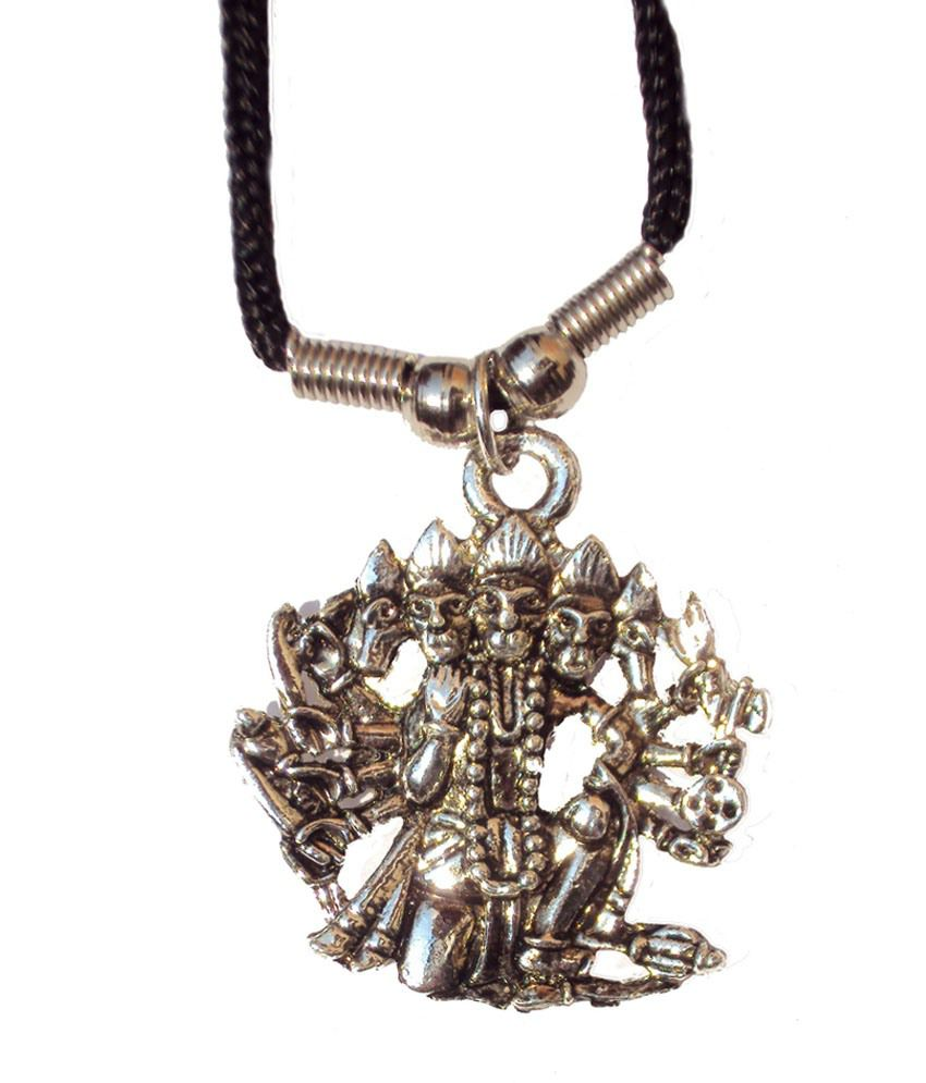 New life fashion stainless steel panchmukhi hanuman pendant chain new life fashion stainless steel panchmukhi hanuman pendant chain aloadofball Images
