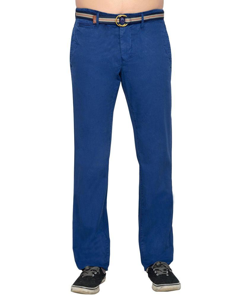 Thinc Blue Linen Comfort Pant