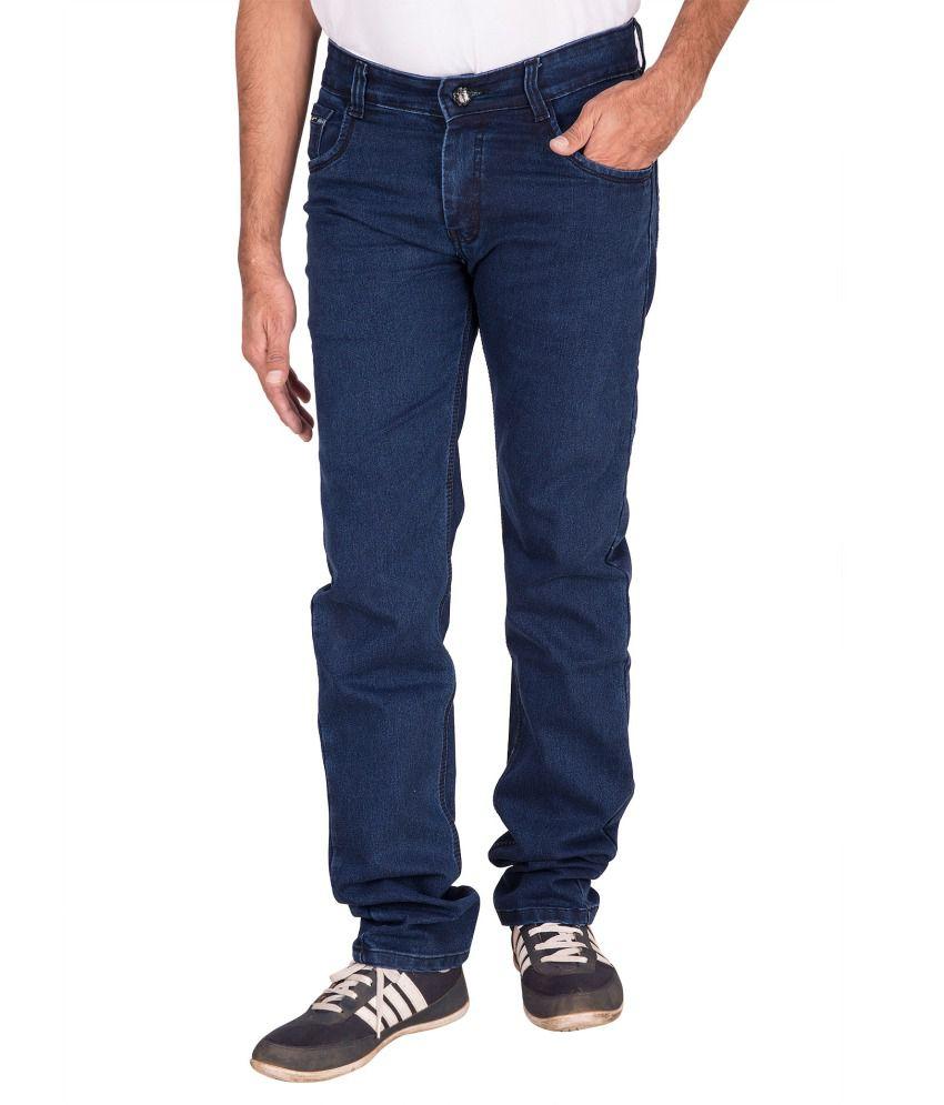 Fame Blue Men Basic Lycra Jeans