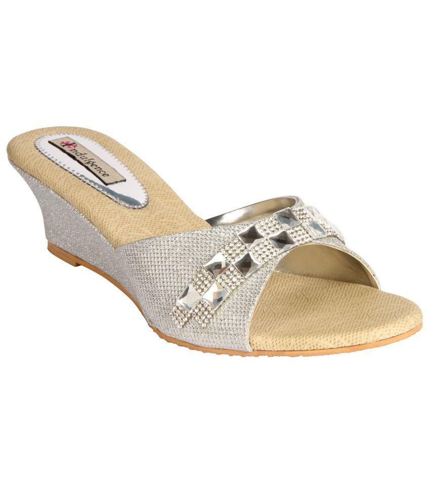 Indulgence Glitterati Peep-toe Wedges