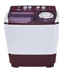 LG 9.5 Kg P1515R3SA Semi Automatic Washing Machine - Burgundy