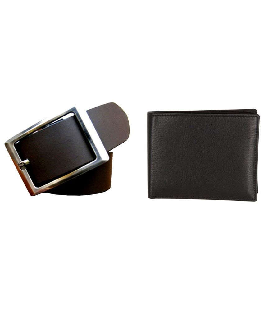 Best Brown Belt And Black Wallet Combo