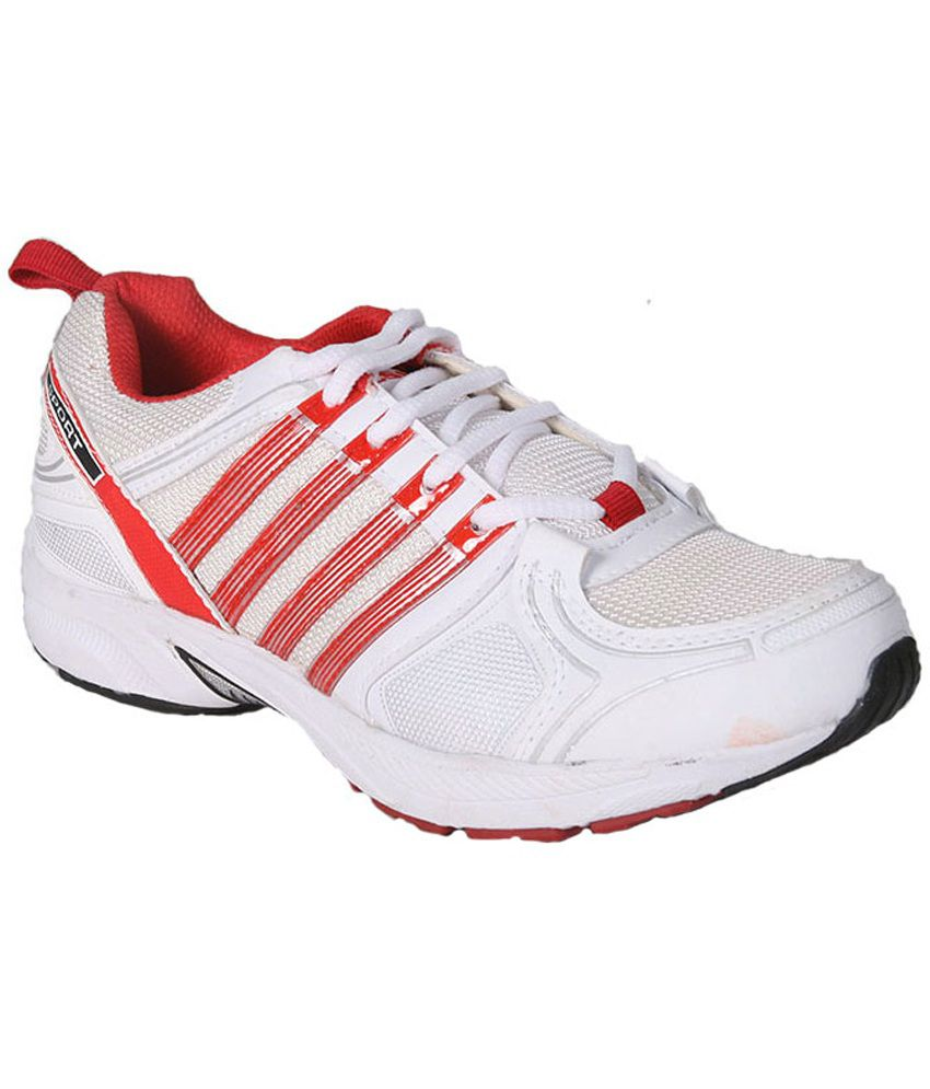 East Star Sports Red Running Sport Shoes