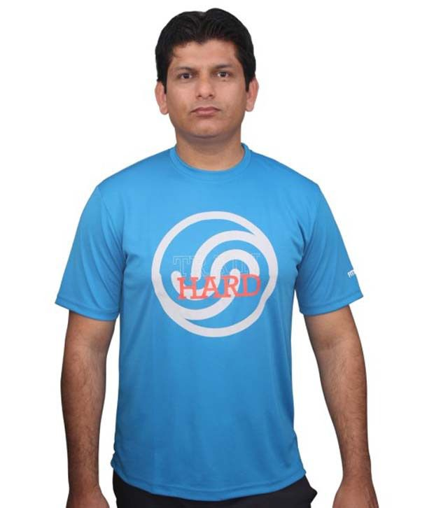 FitSoul Blue T Shirt For Men
