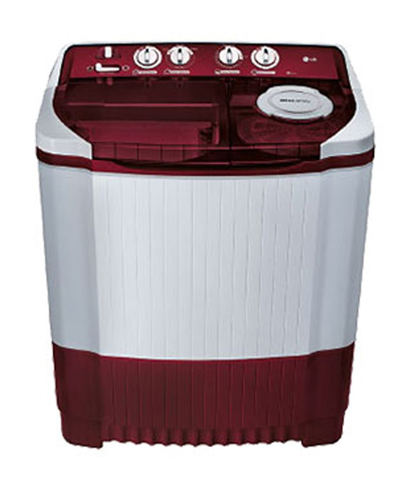 LG 6.8 Kg P7853R3SA Semi Automatic Top Load Washing Machine Burgundy