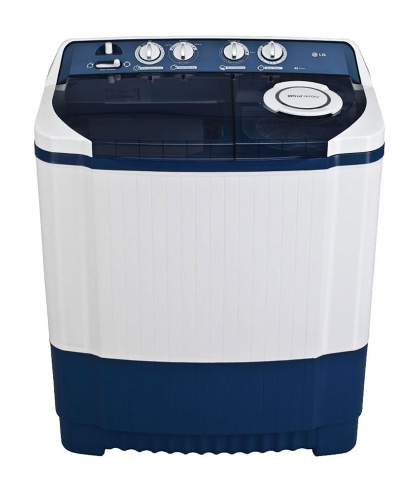 LG 7.0 Kg P8072R3FA Semi Automatic Washing Machine - Dark Blue