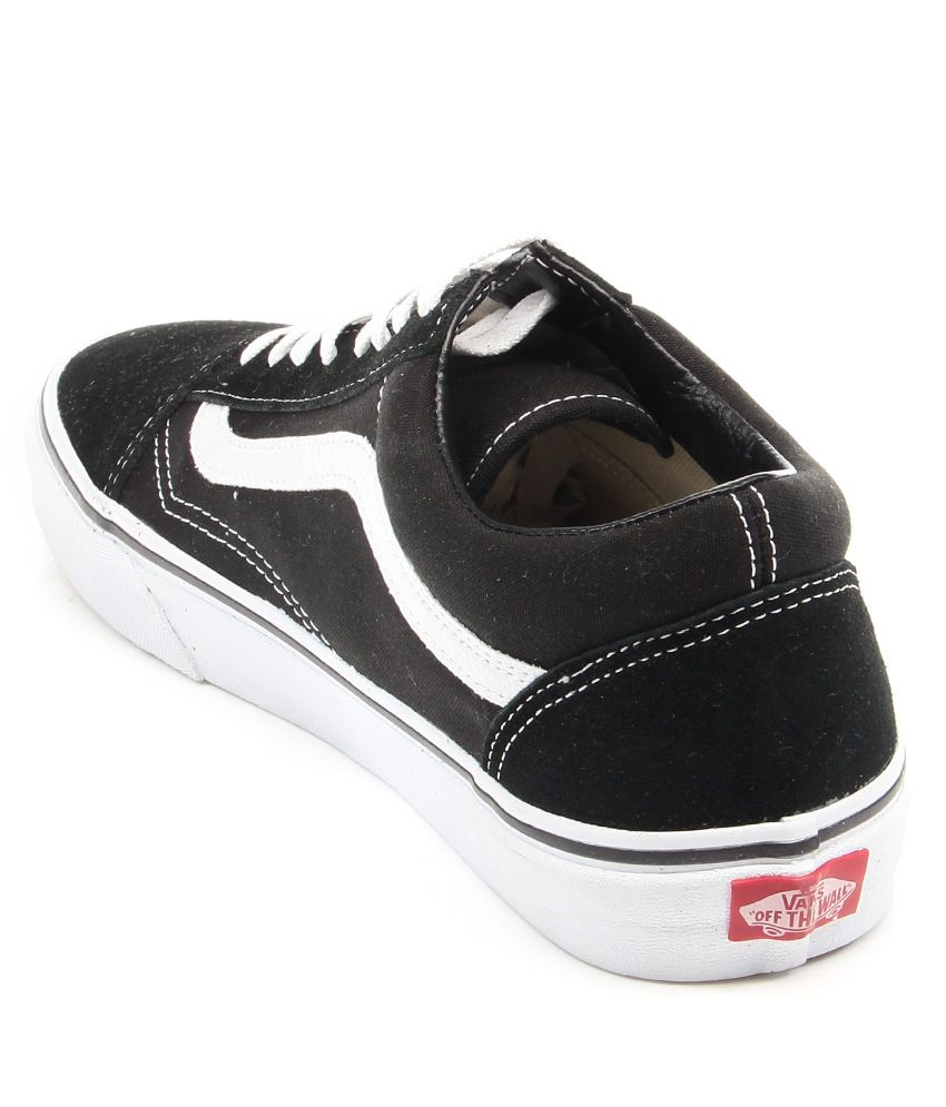 VANS Black Smart Casuals Shoes - Buy VANS Black Smart Casuals Shoes ... 8b1df0030