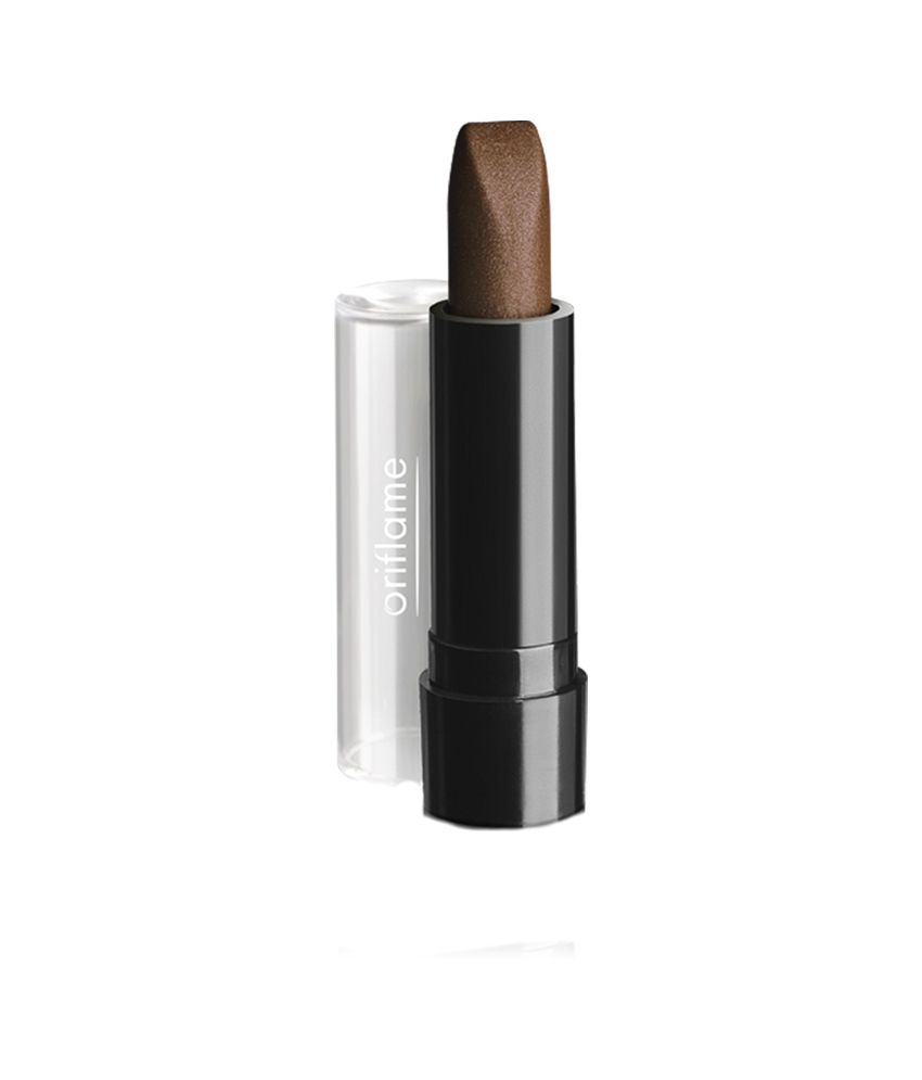 Oriflame Pure Colour Intense Lipstick Mink Brown At Best Prices In India Snapdeal