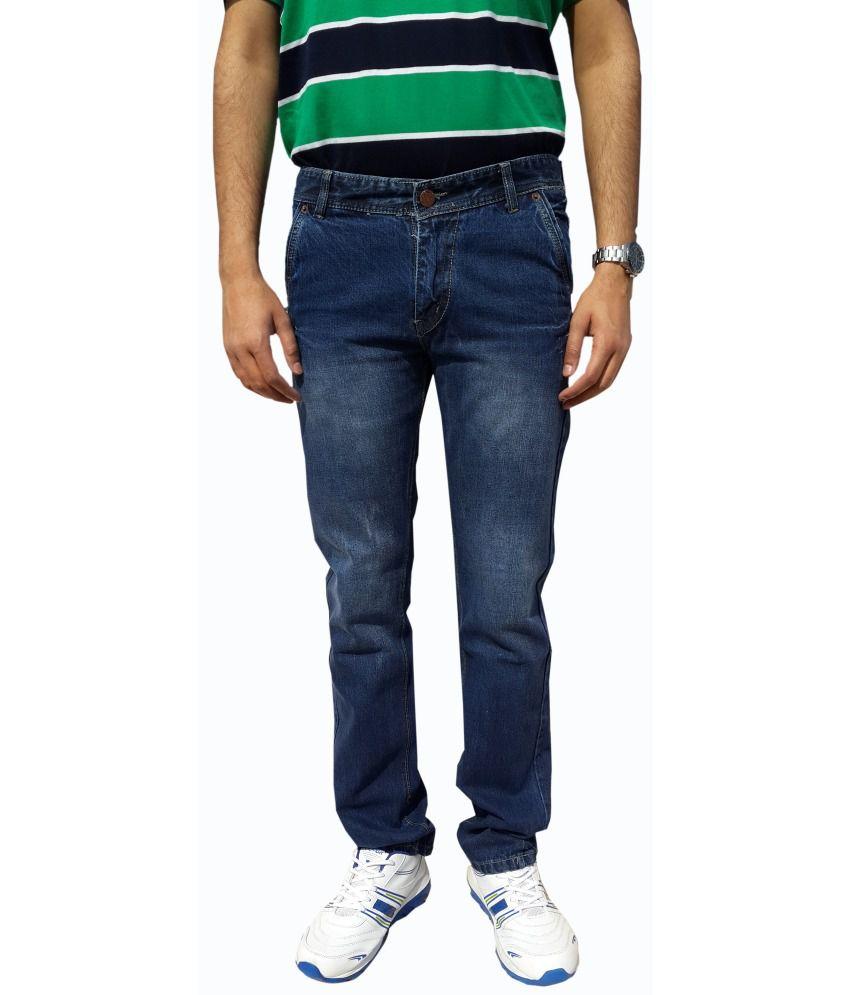 UK Blue Blue Regular Fit Men Jeans