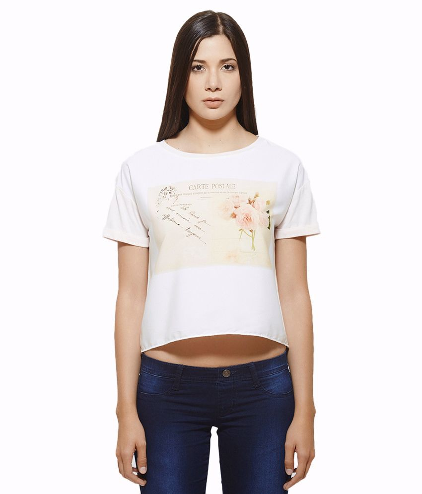 United Colors Of Benetton Pink Cotton Tees
