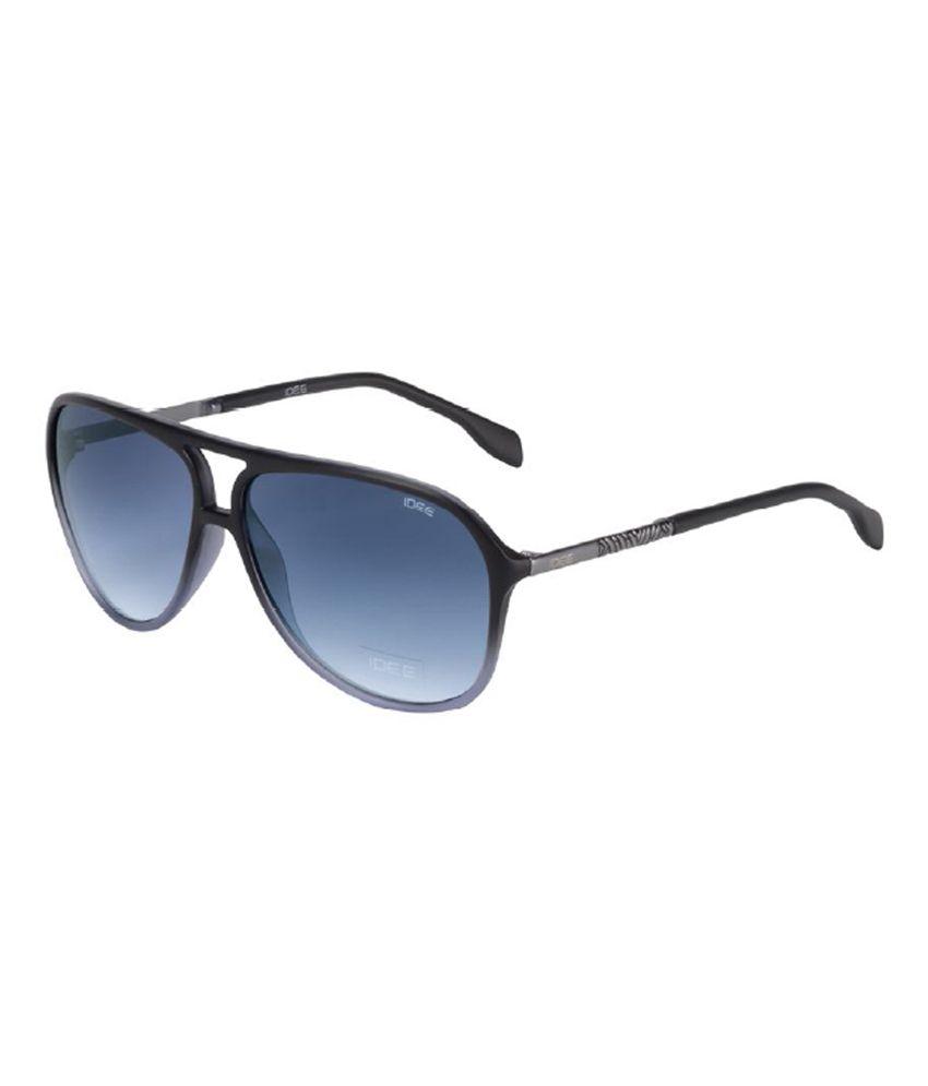 87140344fe02c Idee S1942 c2 Blue Medium Aviator Sunglass - Buy Idee S1942 c2 Blue Medium  Aviator Sunglass Online at Low Price - Snapdeal