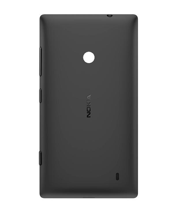 separation shoes b3bea f5c72 Nokia Original Back Panel For Nokia Lumia 520/Lumia 525 - Black