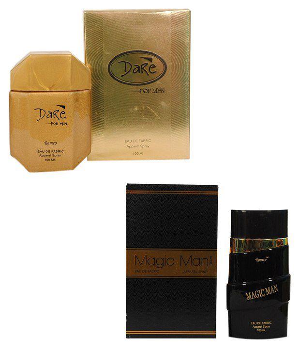 Ramco Dare Perfume and MAGIC MAN Eau De Fabric Apparel Spra...