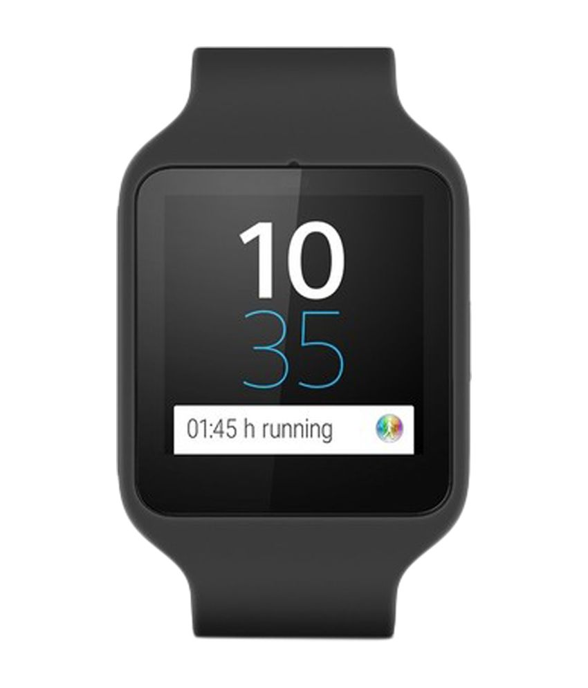 f1148d5f035 Sony Smart Watches Black - Wearable   Smartwatches Online at Low Prices