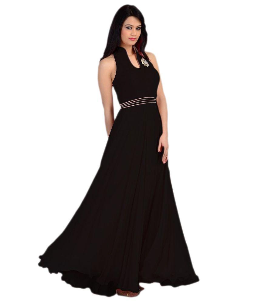 Black Gown Online India Reputable Site E953f 53cda Zamzaamcom