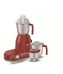 Maharaja Whiteline Mixer Grinder Smart Chief Red Treasure