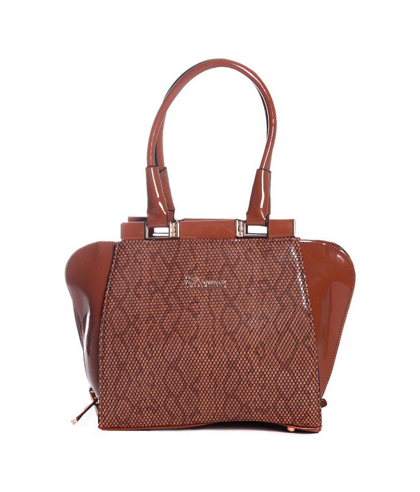 Eleegance Brown Shoulder Bag