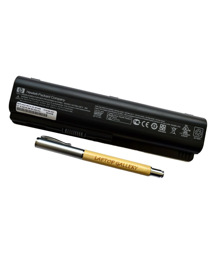 HP Genuine Original Laptop Battery For Pavilion Dv4-1025tx With Clean India Wooden Pen