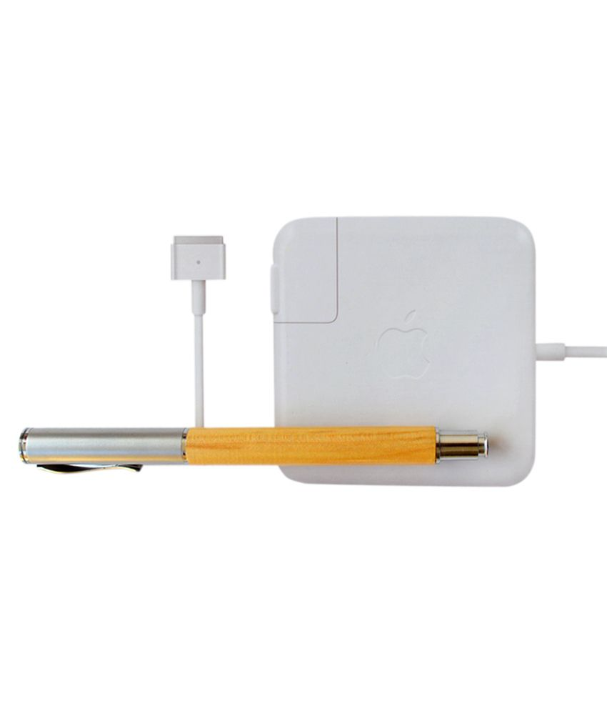 Apple Genuine Original Magsafe 2 85w Power Adapter For Macbook Pro Me293ll/a 20v 4.25a A1424 with Clean India Wooden Pen