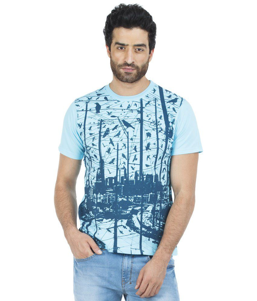 Zovi Nice Looking Blue T Shirt