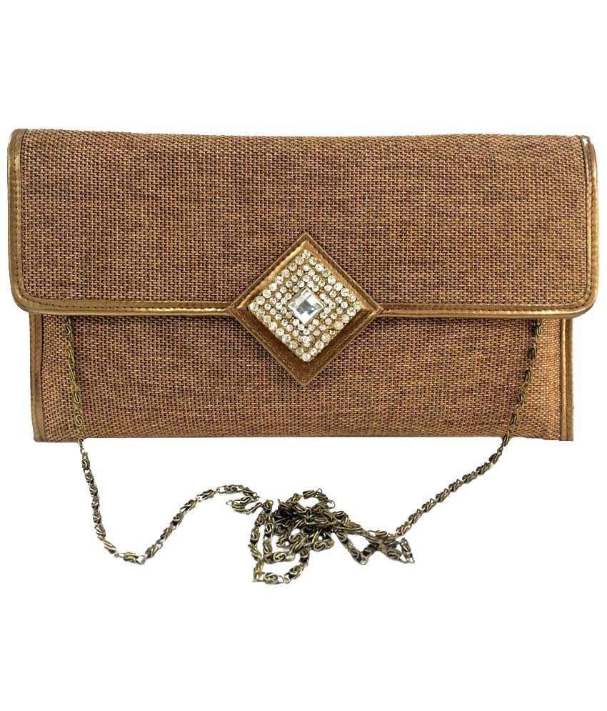 Craftstages SB154 Brown Sling Bags