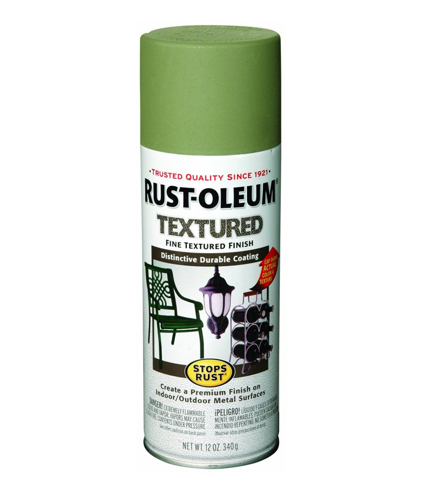 Buy Rust Oleum Stops Rust Textured Spray Paint Color Sage Online At Low Price In India Snapdeal