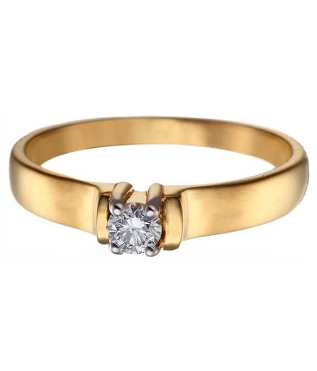 Swastik Jewellers Gold Diamond Ring
