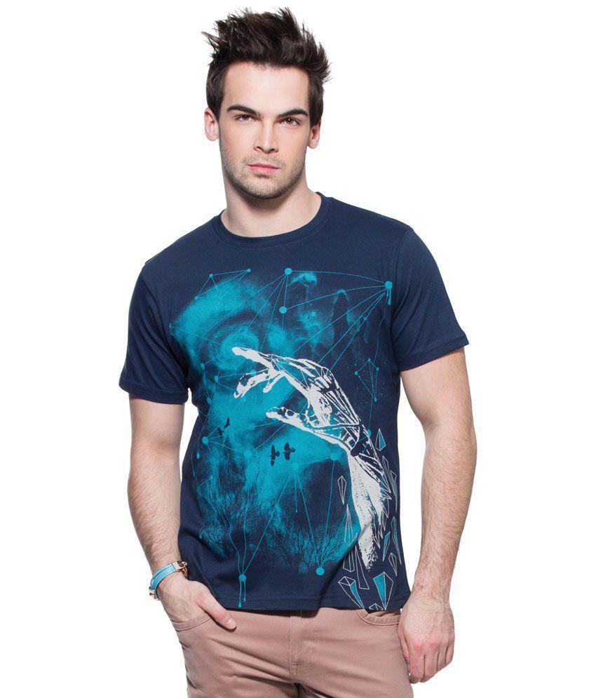Zovi Eye Catching Blue T Shirt