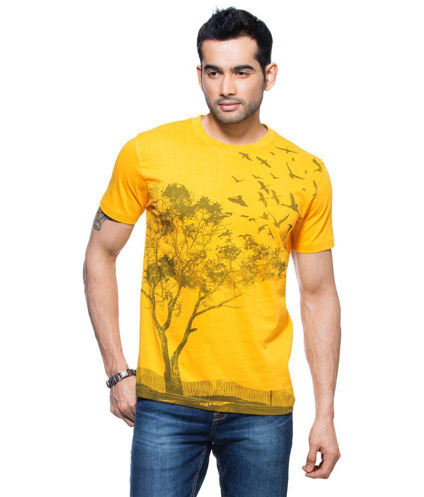 Zovi Glamorous Yellow T Shirt