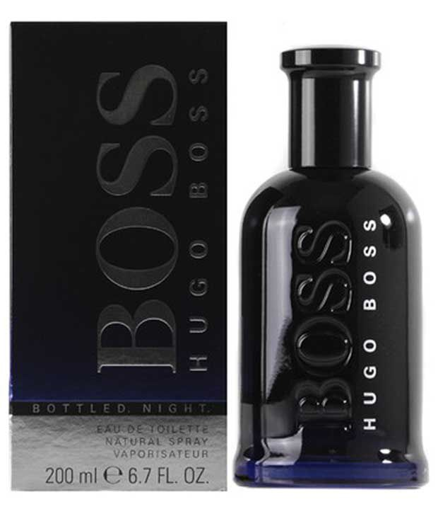 hugo boss bottled night edt 200ml for men buy online at. Black Bedroom Furniture Sets. Home Design Ideas