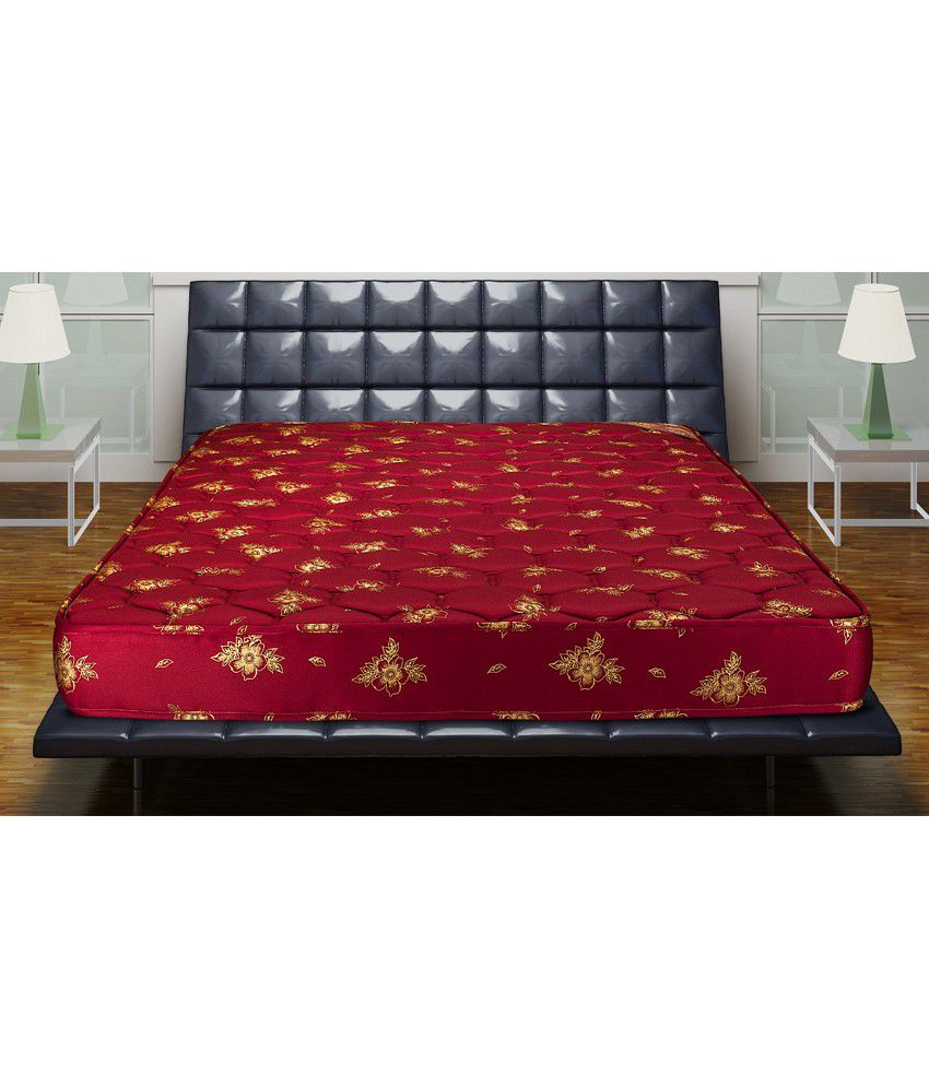 kurl on new klassic 6 inch king size coir mattress 78x72x6 buy