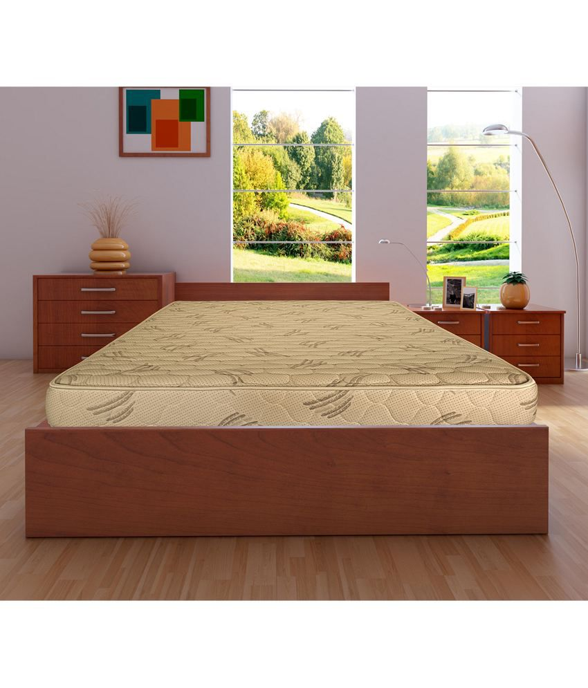 Kurl On Relish 6 Inch King Size Spring Mattress 72x72x6