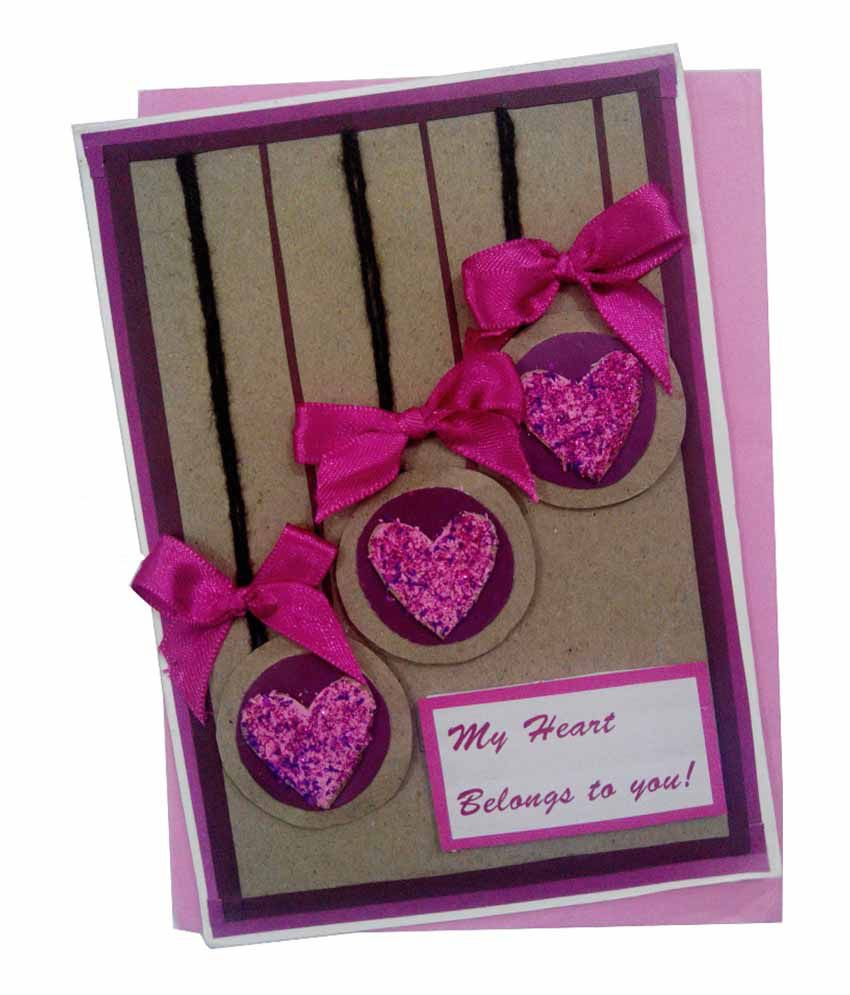 Mishti creations love greeting card buy online at best price in mishti creations love greeting card kristyandbryce Gallery