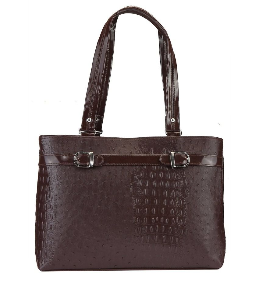Aahana Brown Shoulder Bag