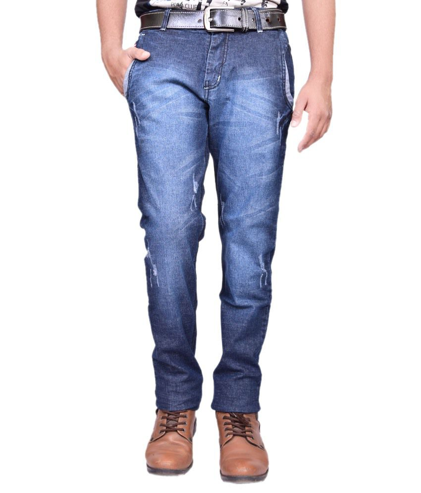 British Terminal Navy Blue Jeans