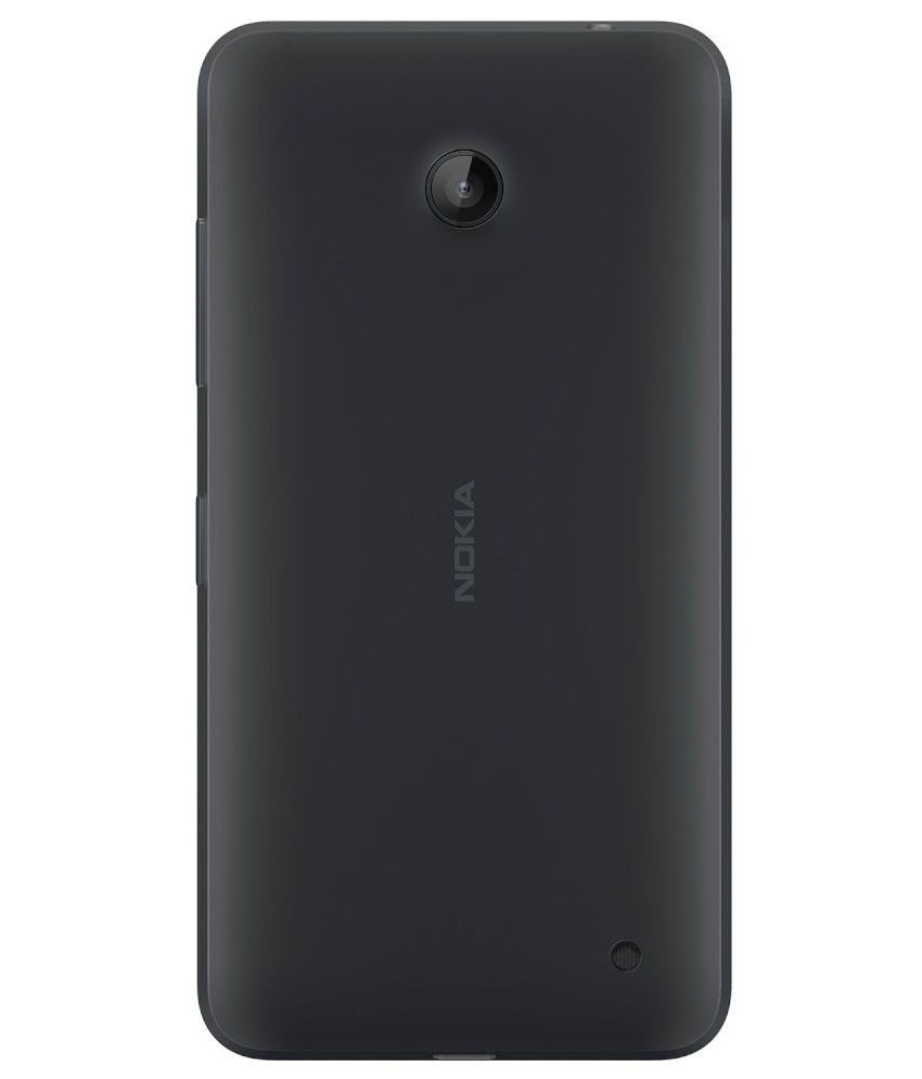 huge discount 398db 158f1 Tommcase Battery Door Panel Back Cover for Nokia Lumia 630 and 635 - Black