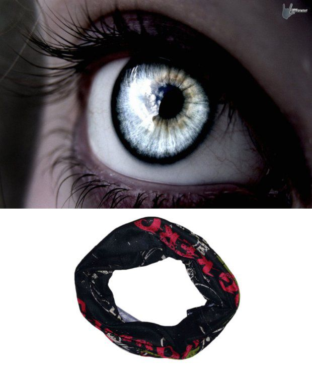 Lycans Black And Red Head Wrap And Laptop Skin Combo