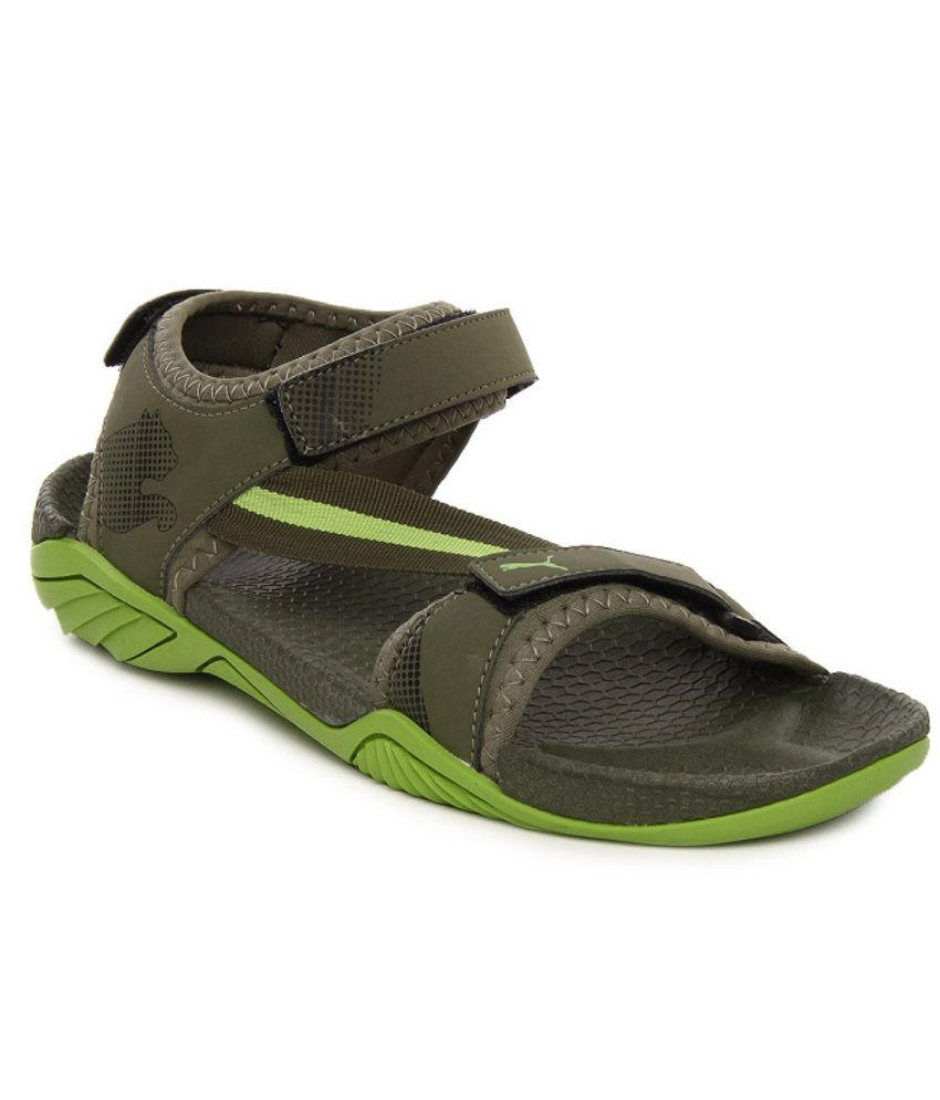 ba04504ad6e1 Puma Green Floater Sandals - Buy Puma Green Floater Sandals Online at Best  Prices in India on Snapdeal
