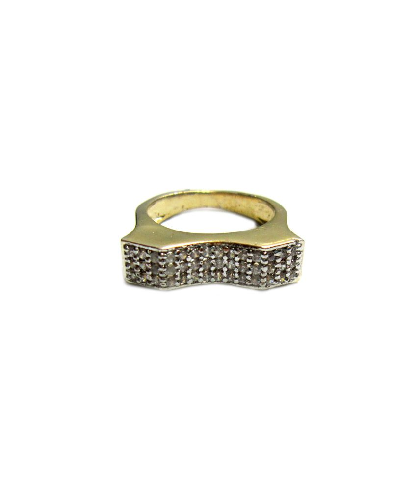 Style me gold plated brass ring buy style me gold plated Style me up fashion trim rings